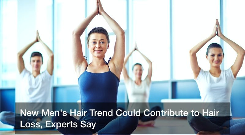 New Men's Hair Trend Could Contribute to Hair Loss, Experts Say